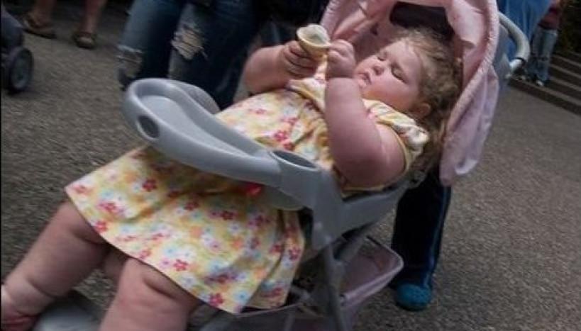 Ela não é gorda