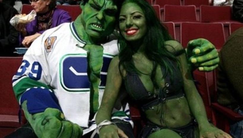 Até o Hulk tem alguém