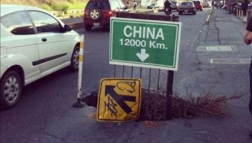 Vamos pra China?