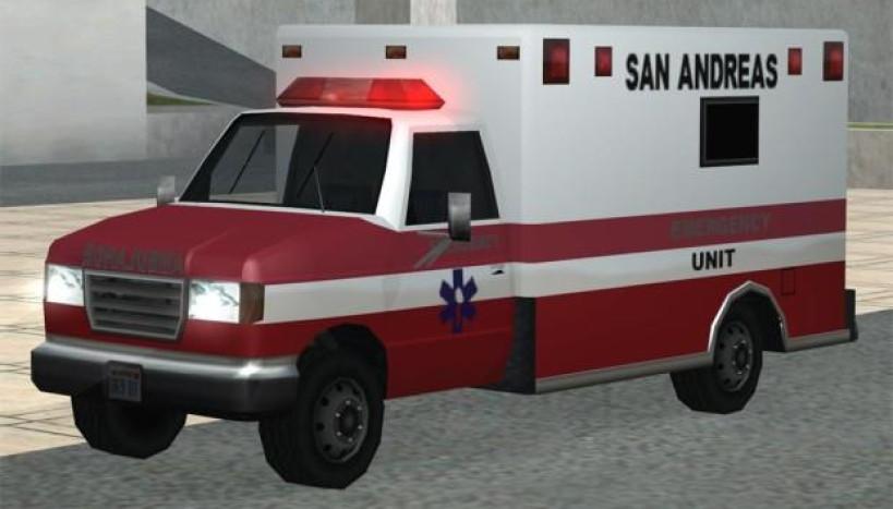 Ambulância no GTA
